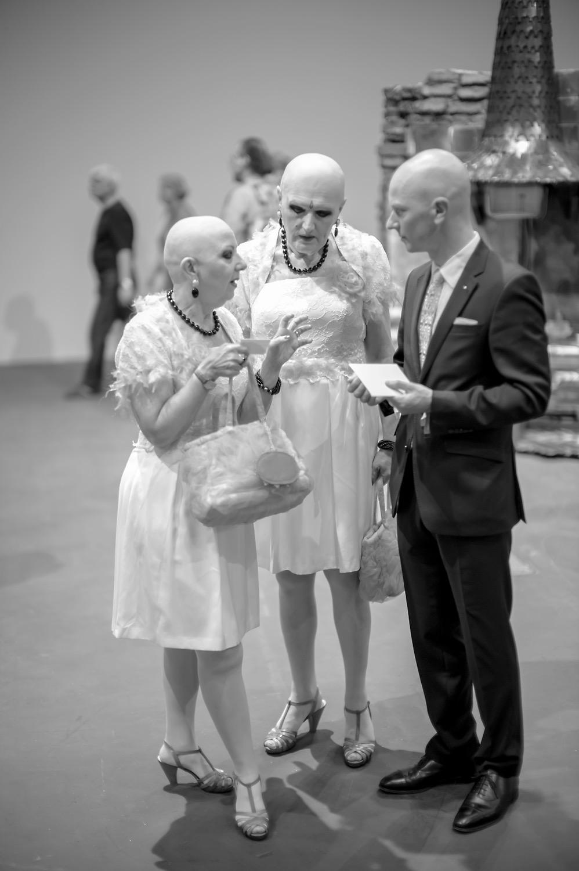 Ateliergespräche - Eva & Adele - Art Basel, Photo: Jochen Rieger