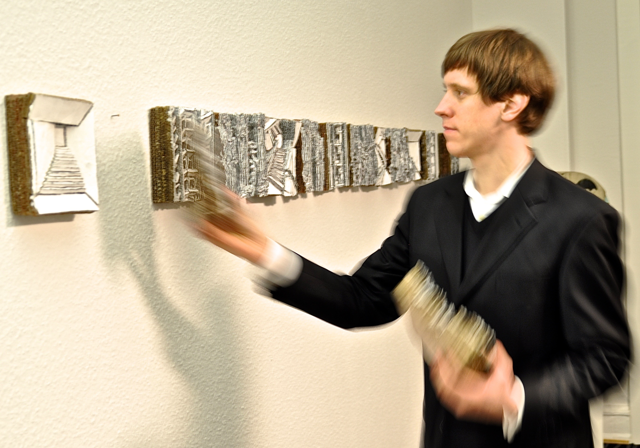 Martin Spengler - Hängung in der Spiegelberger Stiftung