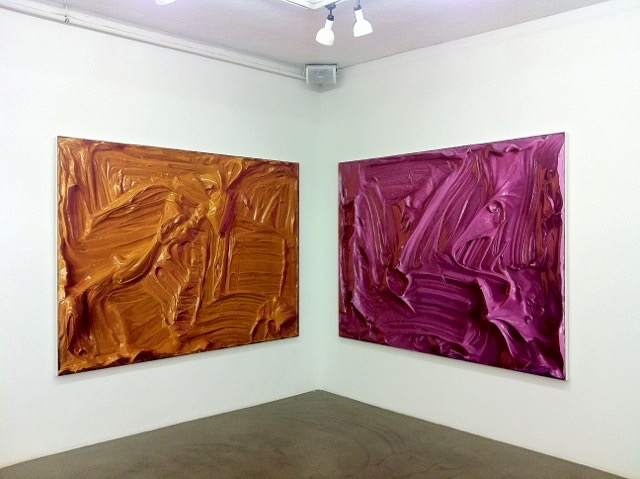 ohne Titel, 2011, Öl auf Leinwand
