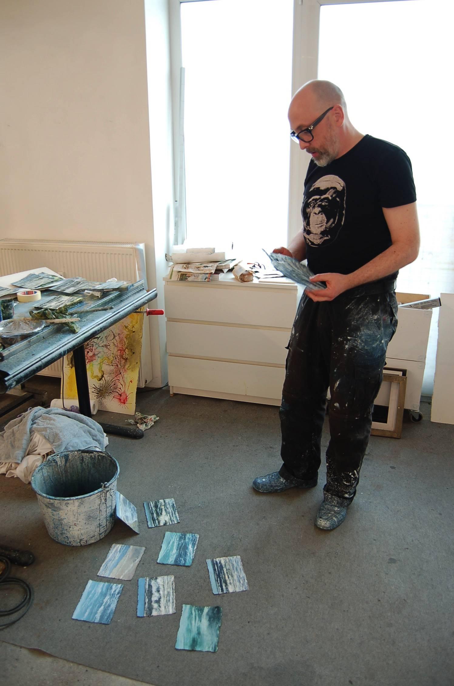 Jochen Hein im Atelier