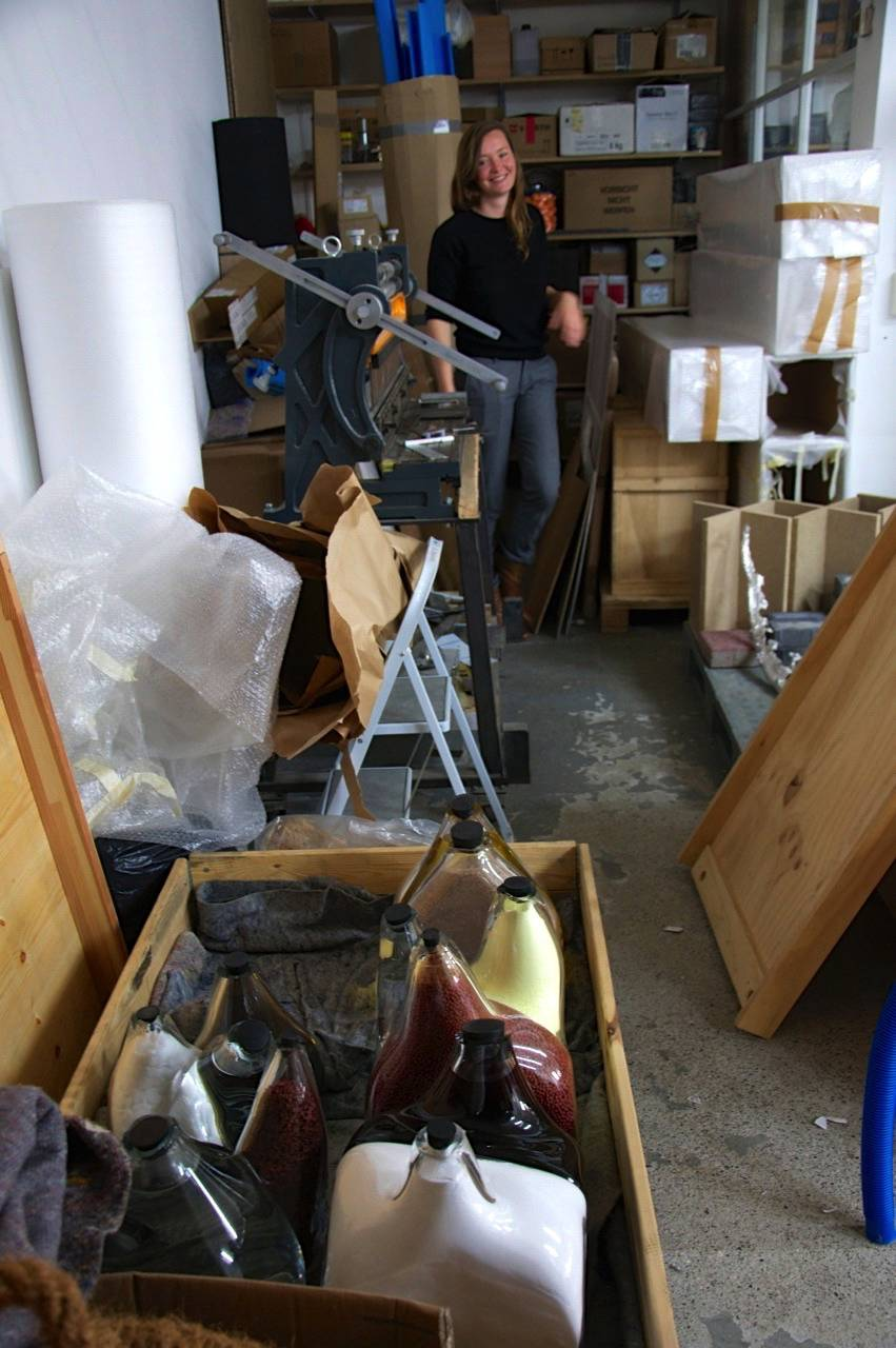 Katja Aufleger - Atelier