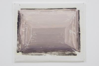 Felix Rehfeld - Unikat VIII - Monotypie - Grau