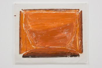 Felix Rehfeld - Unikat VIII - Monotypie - Orange 1