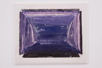 Felix Rehfeld - Unikat VIII - Monotypie - Violett 1