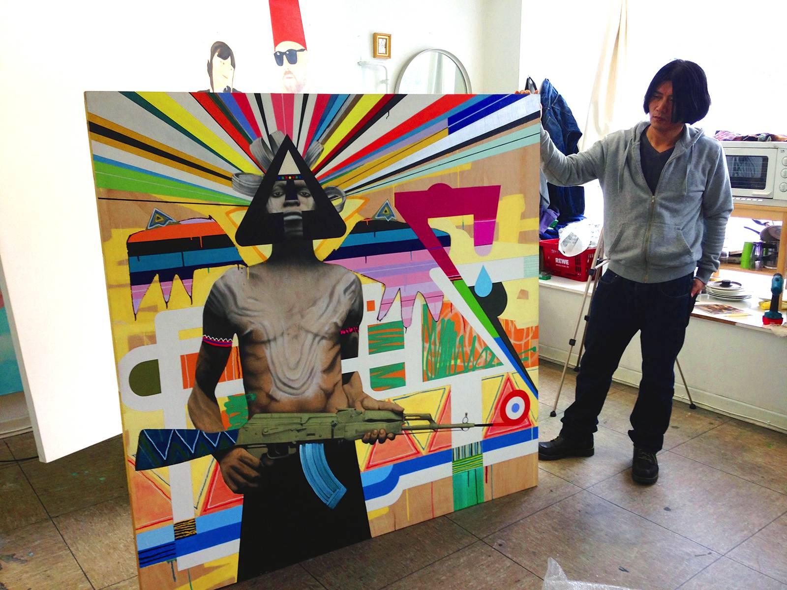 Ki Yoon Ko im Atelier