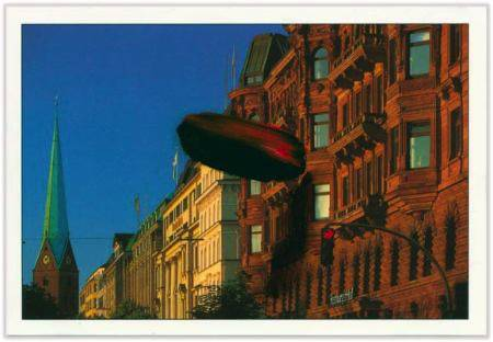 Marc Lueders - Unikat V - 102 Hamburg - Fassaden am Jungfernstieg