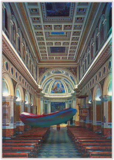 Marc Lueders - Unikat V - 107 Cattedrale di Palestrina - Chiesa Cattedrale - Interro