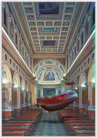 Marc Lueders - Unikat V - 108 Cattedrale di Palestrina - Chiesa Cattedrale - Interro