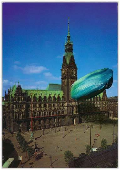 Marc Lueders - Unikat V -  116 Hamburg Rathaus