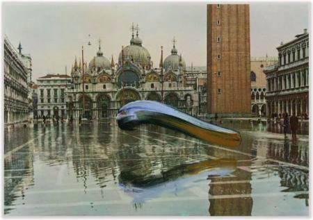 Marc Lueders - Unikat V - 130 Venezia Piazza S. Marco con acqua alta, Edizione Zerella SNC 189