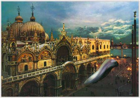 Marc Lueders - Unikat V - 131 Venezia Basilica e Piazzetta S. Marco, Edizione Zerella SNC 610