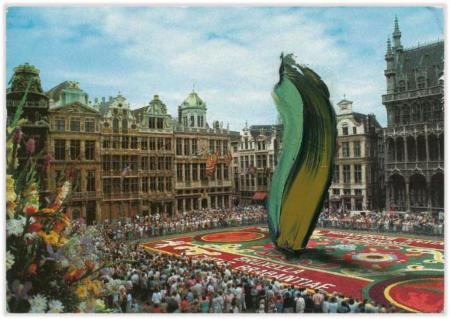 Marc Lueders - Unikat V - 160 Brussel : Grand Place