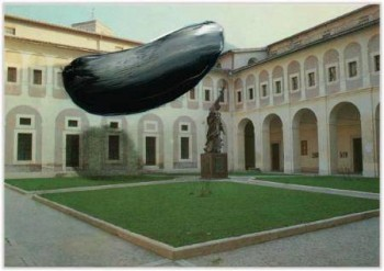 Marc Lueders - Unikat V -  32 Subiaco (Roma) - Monastero S. Scolastica - Chiostro rinascimentale