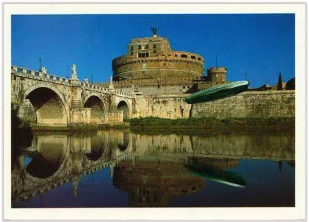 Marc Lueders - Unikat V -  58 Roma - Castel S. Angelo