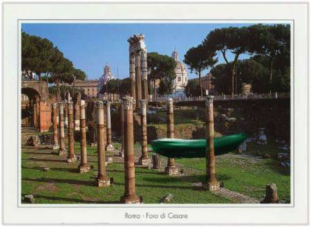 Marc Lueders - Unikat V -  63 Roma - Foro di Cesare e Tempio di Venere Genitrice
