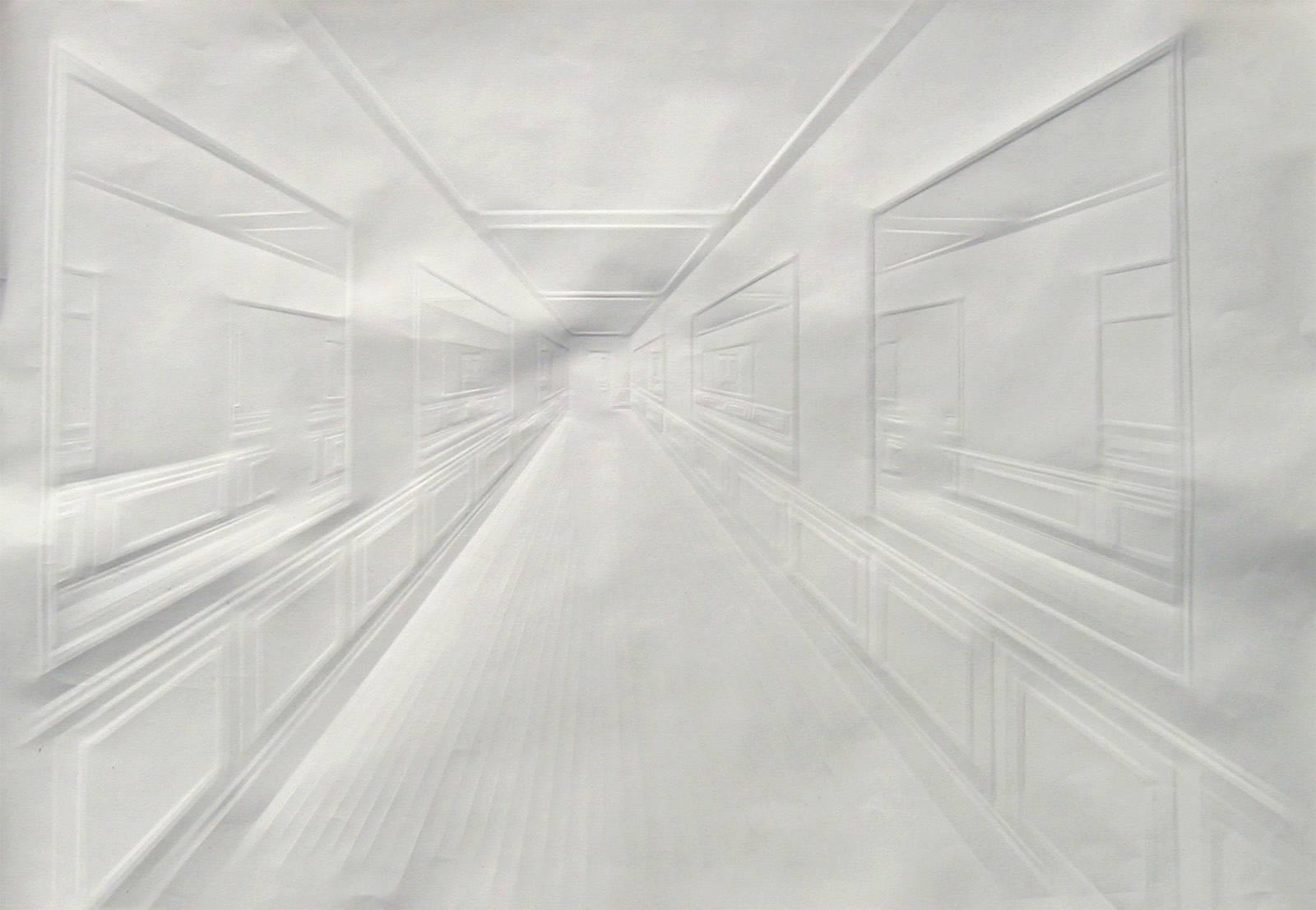 Simon Schubert - o.T., 50 cm x 75 cm, 2007