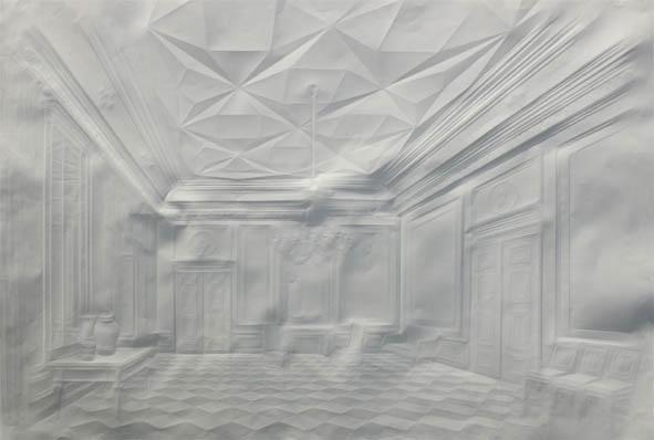 o.T. (Stadtschloss Gemächer),2012,75x100cm ex