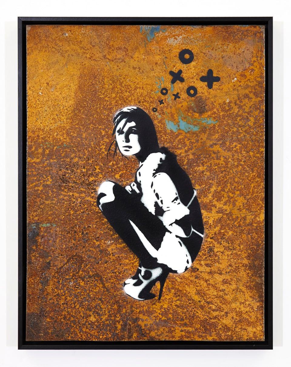 von Damien Hirst, Banksy und Andy Warhol versteigert.