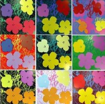 Andy Warhol, Flowers, 1970