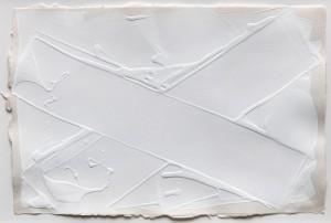 "Angelo Savelli, ""Obicross"", 1993, Acryl auf Papier, 29,5 x 43,5 cm"