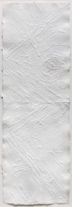 "Angelo Savelli, ""Ritmicals"", 1993, Acryl auf Papier, 86 × 29,5 cm"