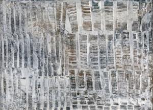 Herbert Zangs, Ohne Titel, 50er Jahre, Dispersion auf Leinwand, 55 × 75 cm